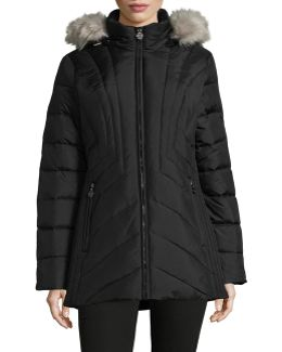 Quilted Hood Parka