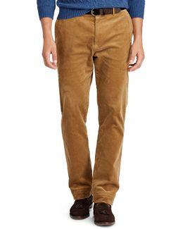 Stretch Classic Fit Corduroy Pants
