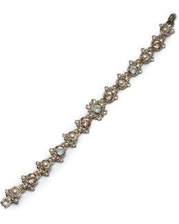 Faux-pearl Pendant Bracelet