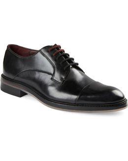 Aokii Cap Toe Leather Derbys