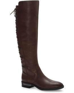 Palenda Leather Knee-high Boots