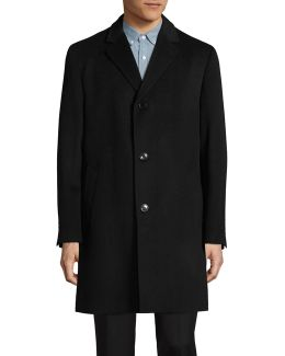 Wool-cashmere Overcoat