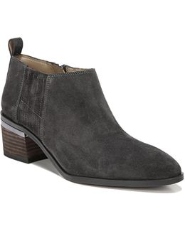 Aberdale Point Toe Suede Booties