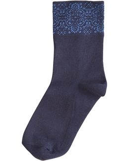 Fine Lace Ultra Smooth Shorty Socks