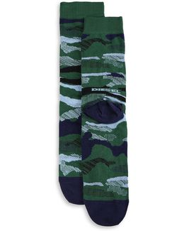 Skm-ray Camo Socks