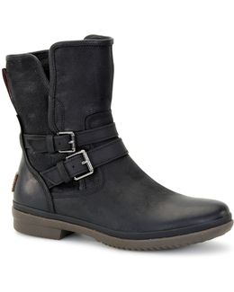 Waterproof Pure Simmens Leather Ankle Boots