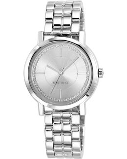 Nw-1643svsb Analog Stainless Steel Bracelet Watch