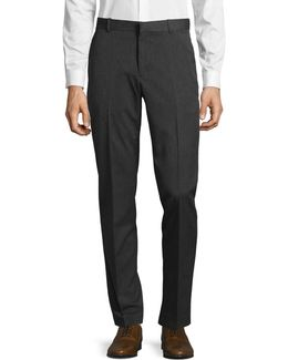 Slim-fit Diamond Dress Pants