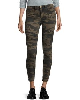 Stretch-fit Camo Skinny Jeans