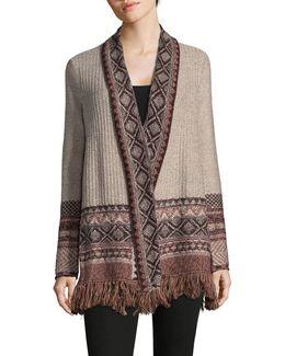 Bohemian Knit Cardigan