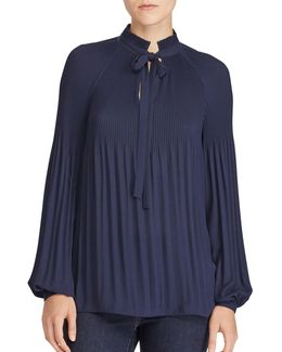 Georgette Pleated Blouse