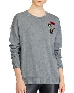 Embellished Roundneck Sweater