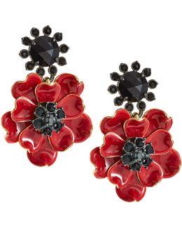 Poppy Drop Earrings