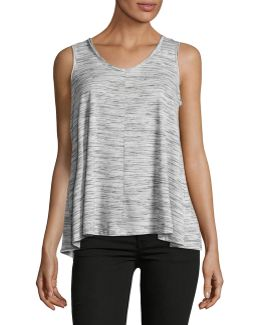 Petite Ruched Tank Top