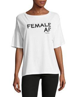 Female Af Tee