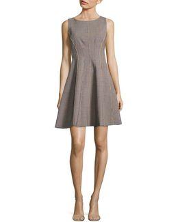 B Win Polished A-line Dress
