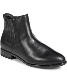 April Leather Chelsea Boots