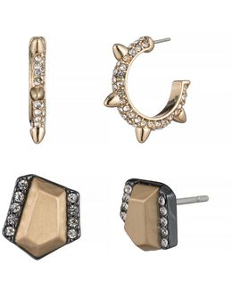 Smoke And Mirrors Stud Earring Set
