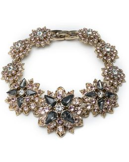 Faceted Floral Bracelet