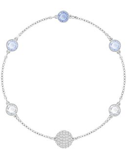 Remix Blue Crystal Timeless Chain Bracelet