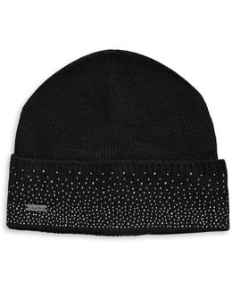 Crystal-studded Tuque