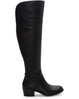 Brilley Wide Calf Leather Boots