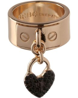 Keys To My Heart Charm Ring