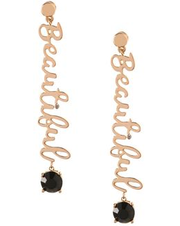 Affirmation Beautiful Drop Earrings