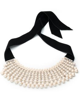 Pearl Manor 12mm White Pearl Choker Necklace