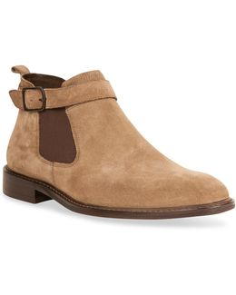 Sum-times Suede Chelsea Boots