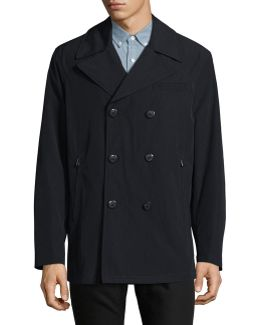 All-weather Peacoat