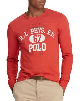 Men's Custom Slim Fit Long-sleeve T-shirt