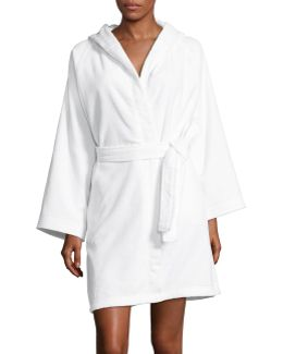 Hooded Cotton Robe