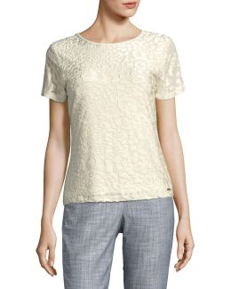 Short-sleeve Textured Tee