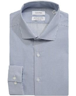 Steel Slim-fit Cotton Dress Shirt