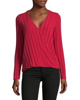 Linear Knit Top