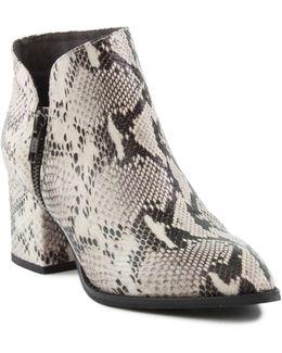 Chaparral Block Heel Leather Booties