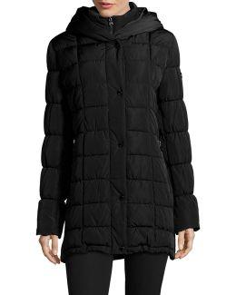 Classic Hooded Quilt Coat