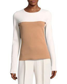 Colourblocked Pullover