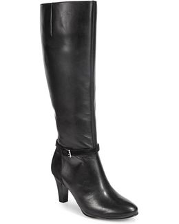 Leather Tall Dress Boots