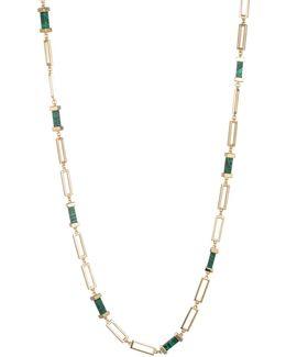 Sunset Hills Bar And Link Single Strand Necklace