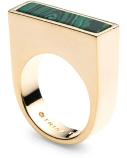 Sunset Hills Bar Solitaire Ring