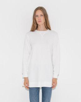 Oversize Side Cut Sweatshirt
