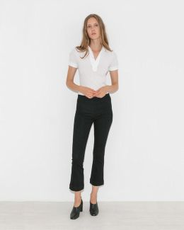 Pull On Crop Flare
