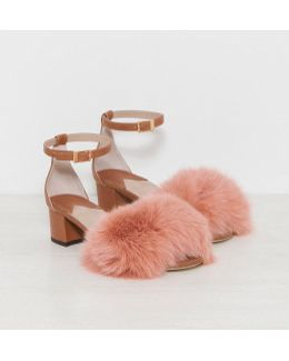 Dhara Tufted Sandals