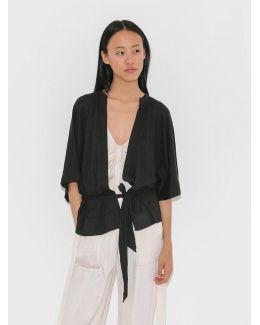 Cropped Kimono Wrap