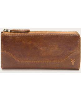 Melissa L Zip Wallet
