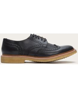 James Crepe Wingtip