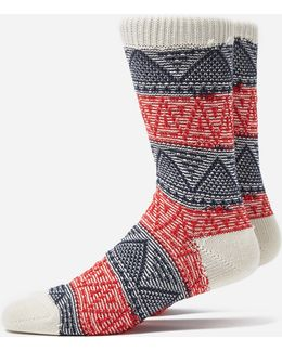Mountain Range Crew Socks