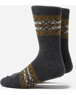 Estonian Jacquard Socks